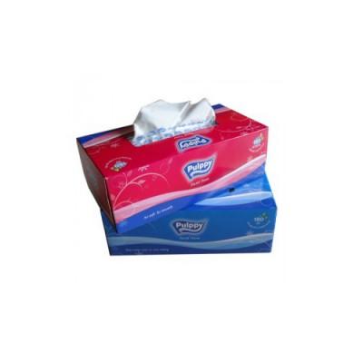 Khăn giấy Pulppy hộp 180 tờ 2 lớp