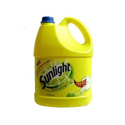 Nước rửa chén sunlight  chanh 4kg