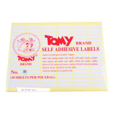 Giấy decal Tomy  99