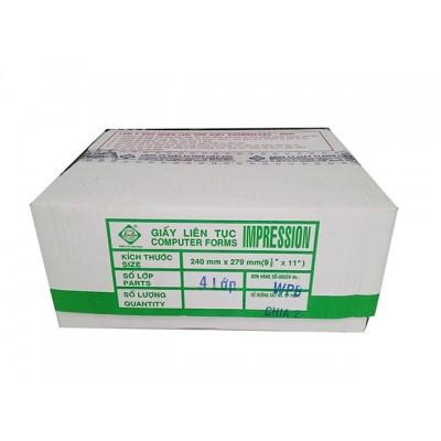Giấy in liên tục K240/2  (240mmx140mm) (1,2,3,4,5 liên)