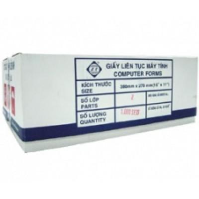 Giấy in liên tục K380/2 (380mmx140mm)(1,2,3,4,5 liên)