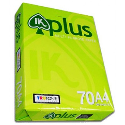 Giấy IK Plus A4 70gsm